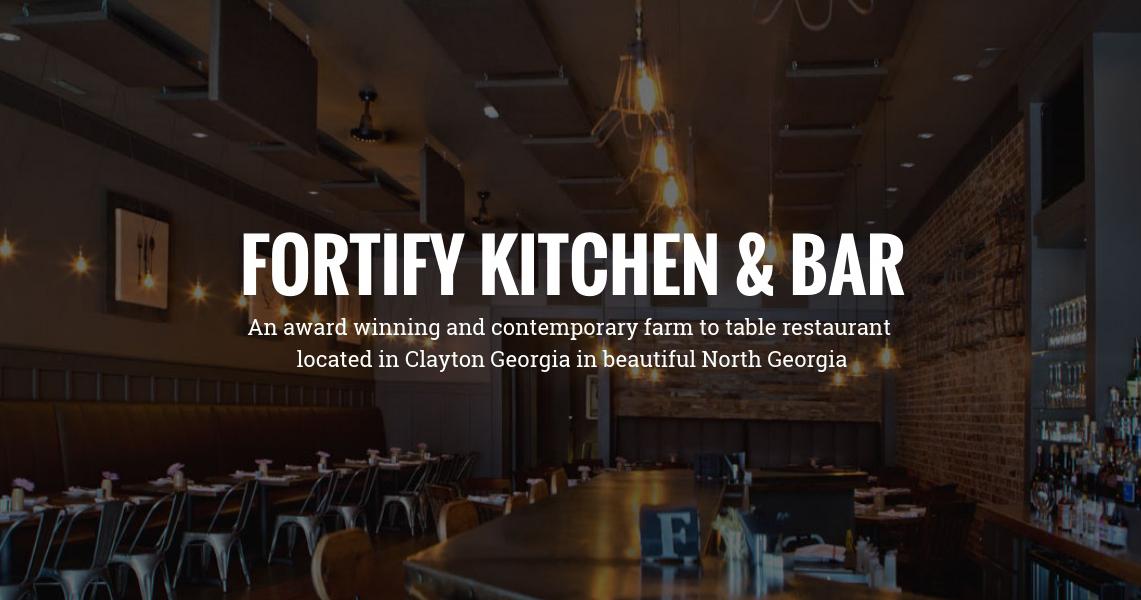 Fortify Kitchen Bar